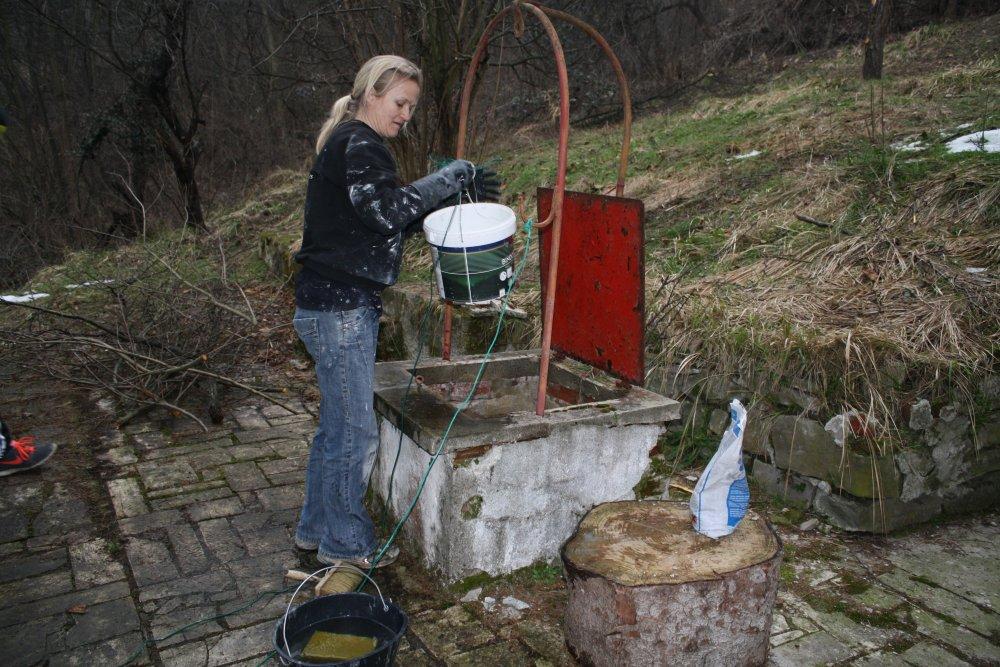 Vinterferien 2015 renovering af bad og køkken.